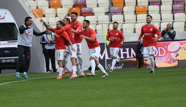 Yeni Malatyaspor 2-2 Gaziantep FK maç özeti ve golleri (İZLE)