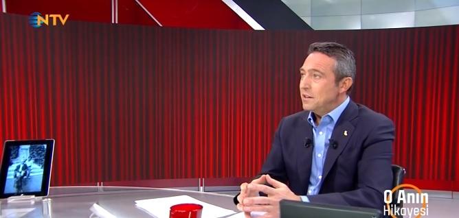 Ali Koç NTV'ye konuk oldu: 'FETÖ hala Türk futbolunda!'