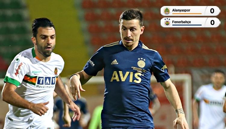 Alanyaspor 0-0 Fenerbahçe maç özeti (İZLE)