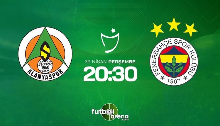Alanyaspor-Fenerbahçe canlı izle, Alanyaspor-Fenerbahçe şifresiz izle (Alanyaspor-Fenerbahçe beIN Sports canlı ve şifresiz İZLE)