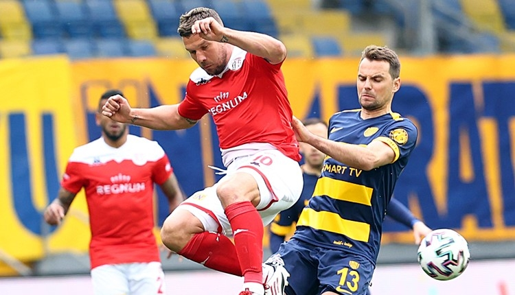 Ankaragücü 1-0 Antalyaspor maç özeti ve golü (İZLE)