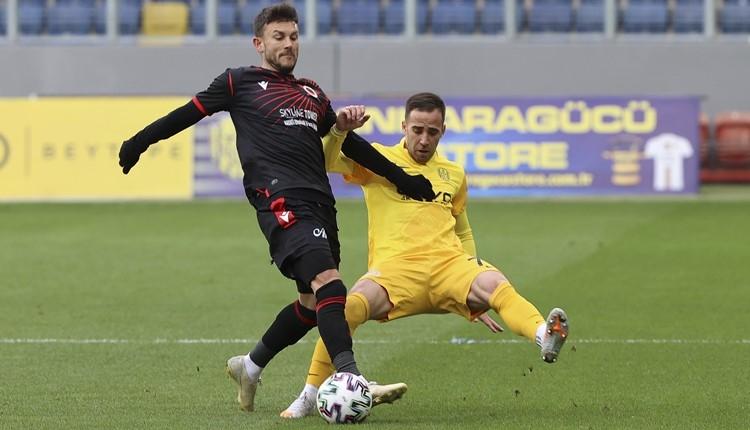 Ankaragücü 2-1 Gençlerbirliği maç özeti ve golleri (İZLE)