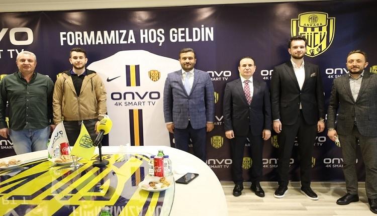 Ankaragücü ile Onvo TV arasında sponsorluk anlaşması