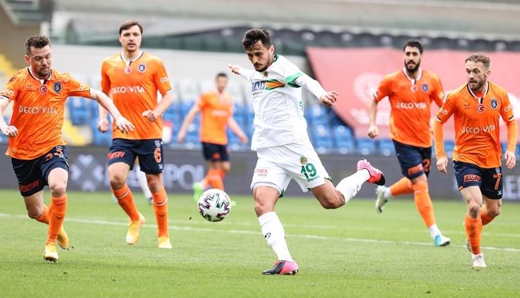 Başakşehir 0-0 Alanyaspor maç özeti (İZLE)