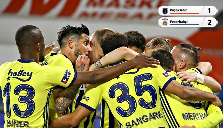 Başakşehir 1-2 Fenerbahçe maç özeti ve golleri (İZLE)
