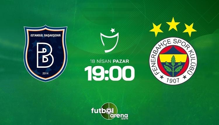 Başakşehir-Fenerbahçe canlı izle, Başakşehir-Fenerbahçe şifresiz izle (Başakşehir-Fenerbahçe beIN Sports canlı ve şifresiz İZLE)