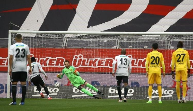 Beşiktaş ligde 17 maç sonra penaltı kullandı