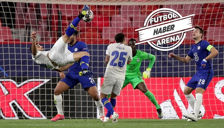 Chelsea yarı finalde! Chelsea 0-1 Porto maç özeti ve golü (İZLE)