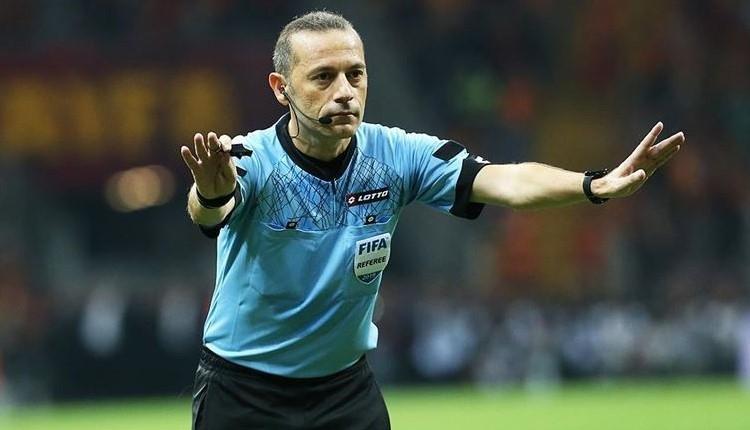 Cüneyt Çakır EURO 2020 hakemleri arasında yer aldı