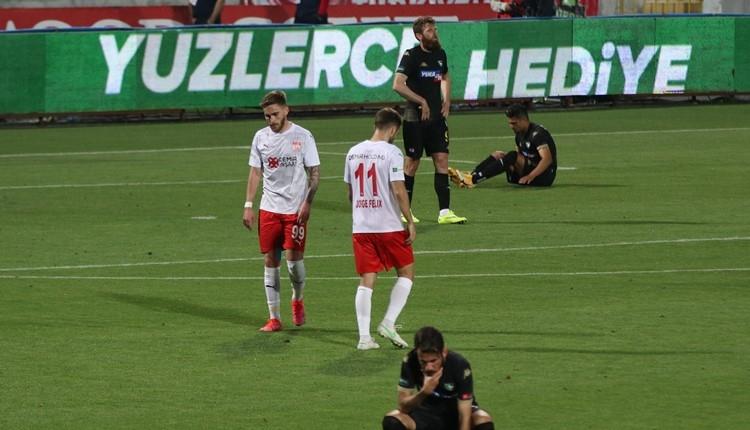 Denizlispor 1-1 Sivasspor maç özeti ve golleri (İZLE)
