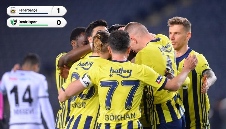 Fenerbahçe 1-0 Denizlispor maç özeti ve golü (İZLE)