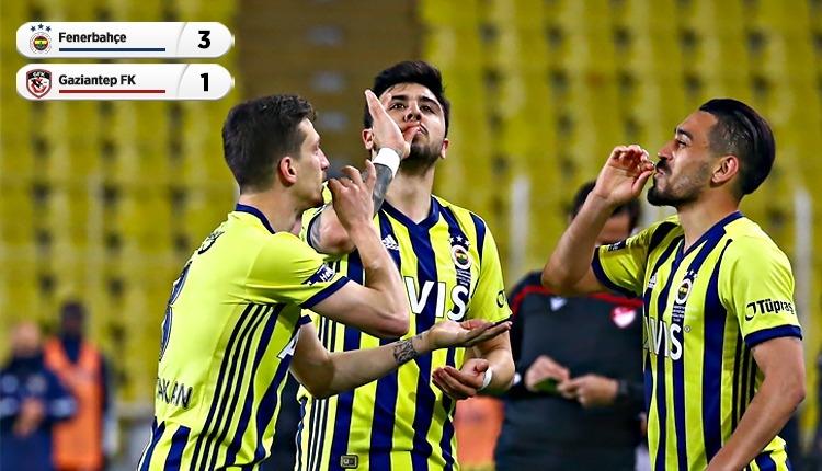 Fenerbahçe 3-1 Gaziantep FK maç özeti ve golleri (İZLE)