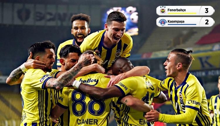 Fenerbahçe 3-2 Kasımpaşa maç özeti ve golleri (İZLE)