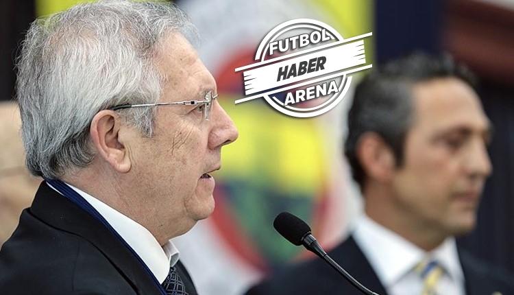 Fenerbahçe'den Aziz Yıldırım açıklaması: 'Gerçekleri söyledi'
