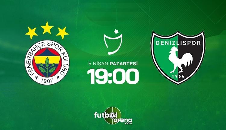 Fenerbahçe-Denizlispor canlı izle, Fenerbahçe-Denizlispor şifresiz izle (Fenerbahçe-Denizlispor beIN Sports canlı ve şifresiz maç İZLE)