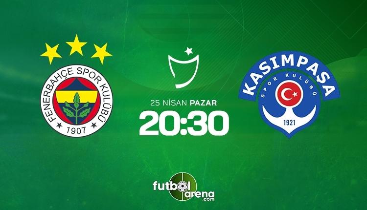 Fenerbahçe-Kasımpaşa canlı izle, Fenerbahçe-Kasımpaşa şifresiz izle (Fenerbahçe-Kasımpaşa beIN Sports canlı ve şifresiz maç İZLE)