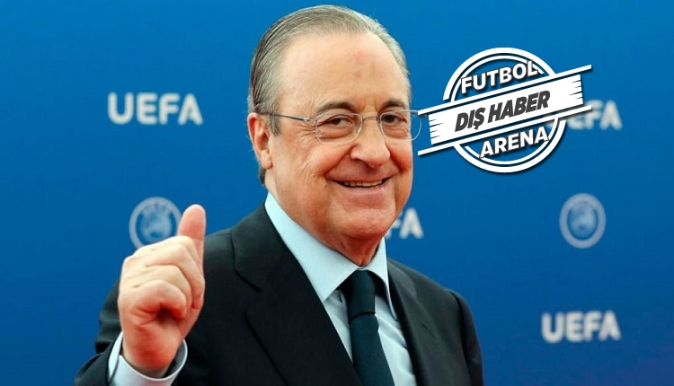 Florentino Perez: 'Süper Lig futbolu kurtaracak!