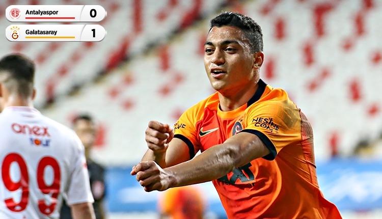 Galatasaray, Antalya'da tek golle kazandı (İZLE)