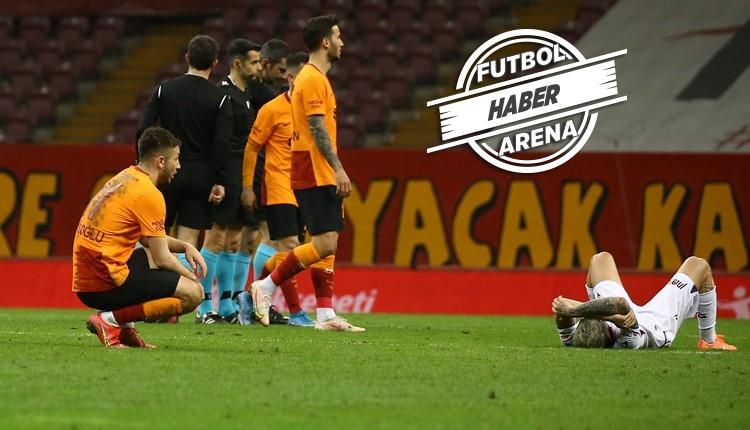 Galatasaray evinde 9 puan bıraktı! Trabzon beraberliğe abone