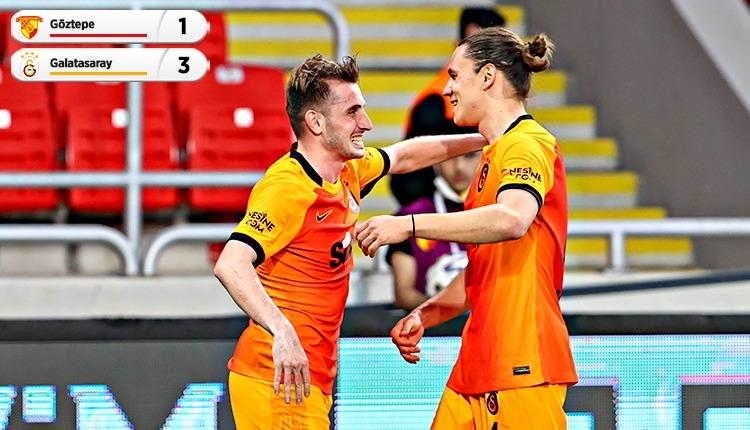 Galatasaray, Göztepe'yi Kerem Aktürkoğlu ile geçti (İZLE)