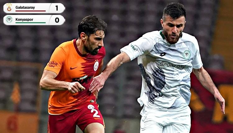 Galatasaray, Konyaspor engelini son dakikalarda geçti (İZLE)