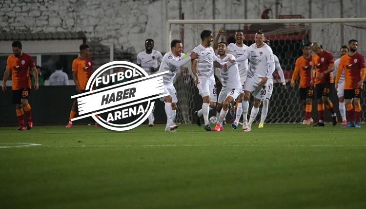 Galatasaray son 5 maçta 11 puan kaybetti! Sezonun en farklısı