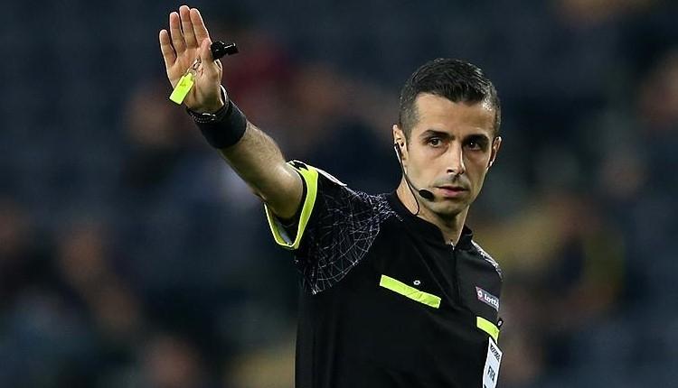 Galatasaray-Trabzonspor maçının hakemi Mete Kalkavan