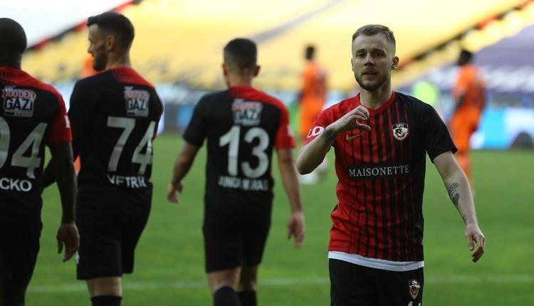 Gaziantep FK 2-0 Başakşehir maç özeti ve golleri (İZLE)