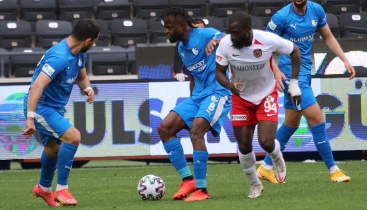 Gaziantep FK 2-3 BB Erzurumspor maç özeti ve golleri (İZLE)