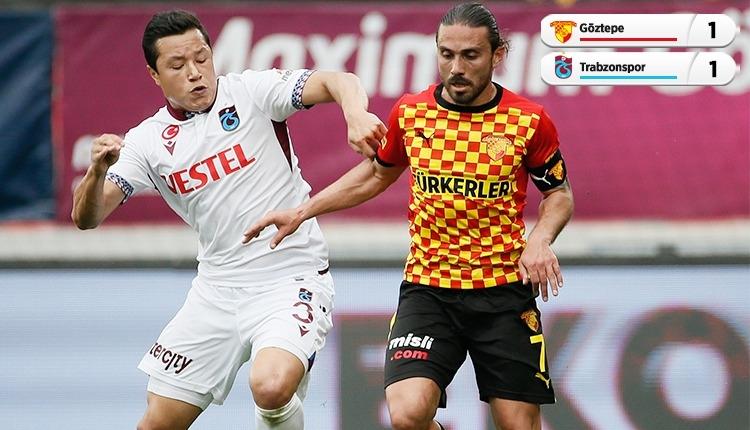 Göztepe 1-1 Trabzonspor maç özeti ve golleri (İZLE)