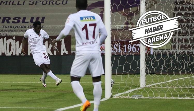 Hatayspor 3-1 Gençlerbirliği maç özeti ve golleri (İZLE)