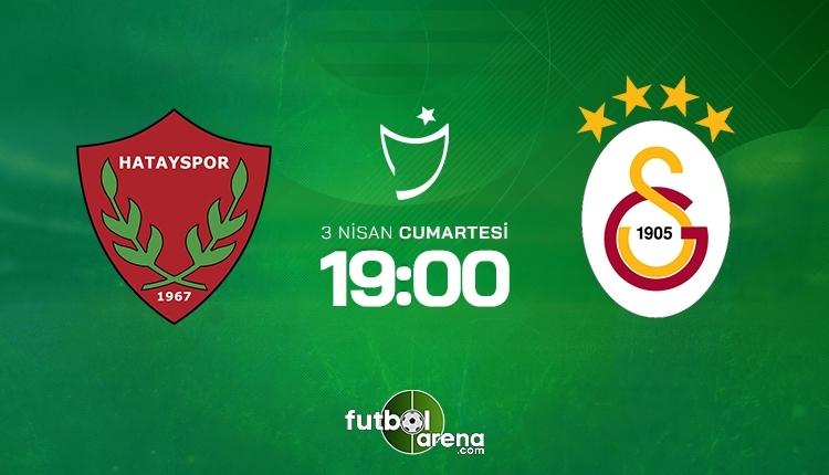 Hatayspor-Galatasaray canlı izle, Hatayspor-Galatasaray şifresiz izle (Hatayspor-Galatasaray beIN Sports canlı ve şifresiz İZLE)