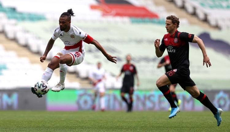 Karagümrük 2-2 Antalyaspor maç özeti ve golleri (İZLE)