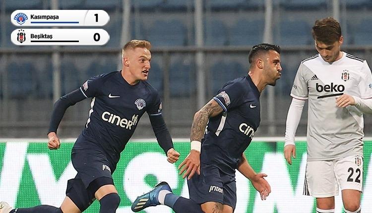 Kasımpaşa 1-0 Beşiktaş maç özeti ve golü (İZLE)