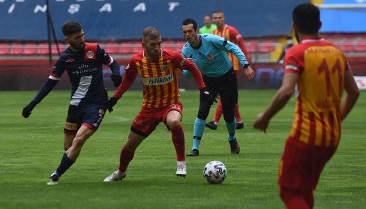 Kayserispor 0-1 Antalyaspor maç özeti ve golü (İZLE)