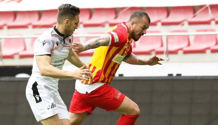 Kayserispor 2-2 Gençlerbirliği maç özeti ve golleri (İZLE)