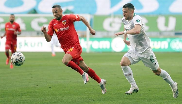 Konyaspor 0-0 Kayserispor maç özeti (İZLE)