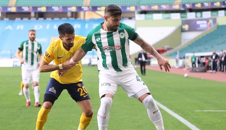 Konyaspor 1-1 Ankaragücü maç özeti ve golleri (İZLE)