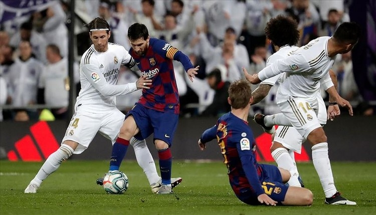 El Clasico heyecanı! Real Madrid - Barcelona maçı saat kaçta?