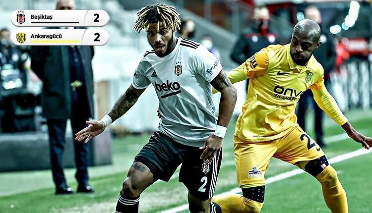 Lider Beşiktaş, Ankaragücü engeline takıldı (İZLE)