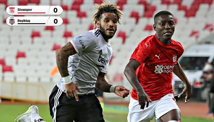 Lider Beşiktaş, Sivas'ta 2 puan bıraktı (İZLE)