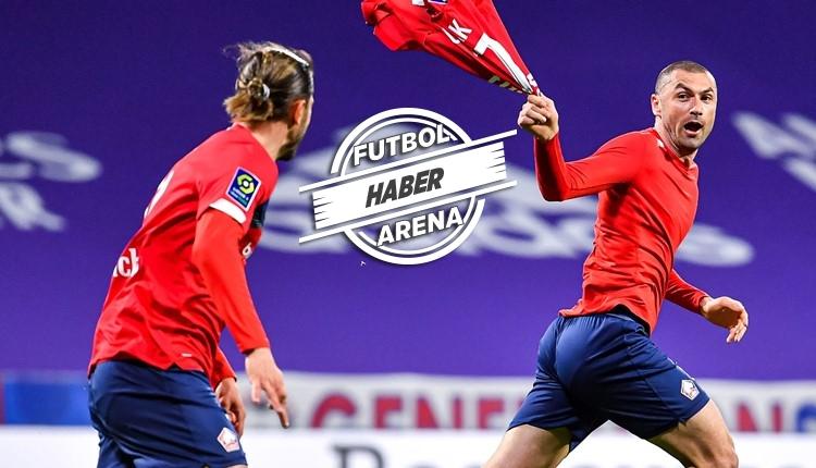 Lyon 2-3 Lille (Burak Yılmaz'ın golleri İZLE)