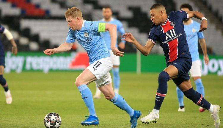PSG 1-2 Manchester City maç özeti ve golleri (İZLE)