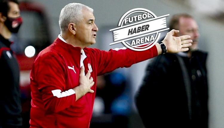 Rıza Çalımbay, 2021'de 4 büyüklere kaybetmedi! Süper Lig'in yenilmezi Sivasspor