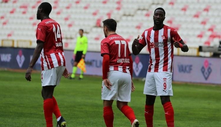Sivasspor 3-1 Konyaspor maç özeti ve golleri İZLE