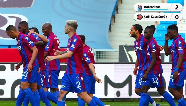 Trabzonspor 2-0 Karagümrük maç özeti ve golleri (İZLE)