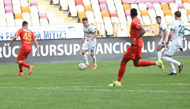 Yeni Malatyaspor 1-0 Alanyaspor maç özeti ve golü (İZLE)
