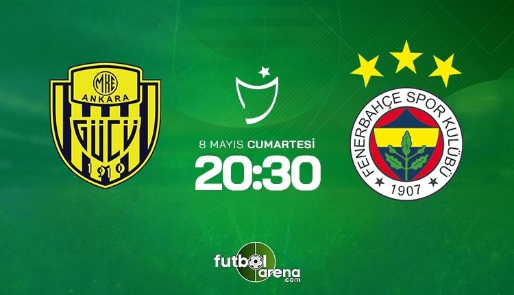 Ankaragücü-Fenerbahçe canlı izle, Ankaragücü-Fenerbahçe şifresiz izle (Ankaragücü-Fenerbahçe beIN Sports canlı ve şifresiz maç İZLE)