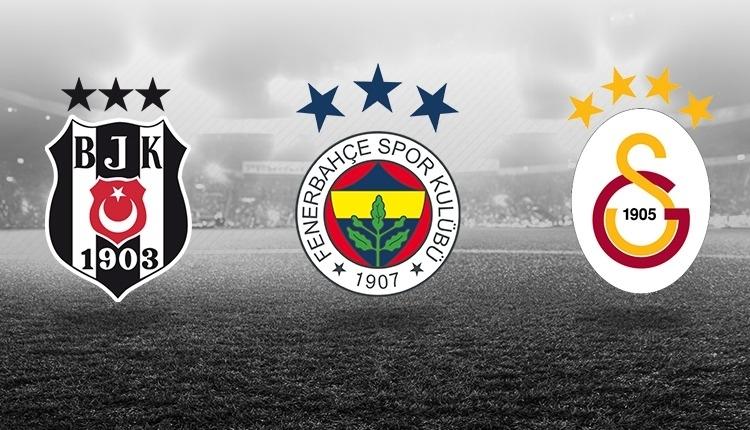 Beşiktaş, Fenerbahçe ve Galatasaray'ın kalan maçları