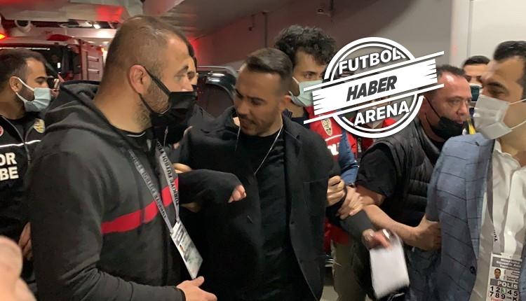 Beşiktaş maç sonu olay! Menajer Hakan Korkmaz gözaltında